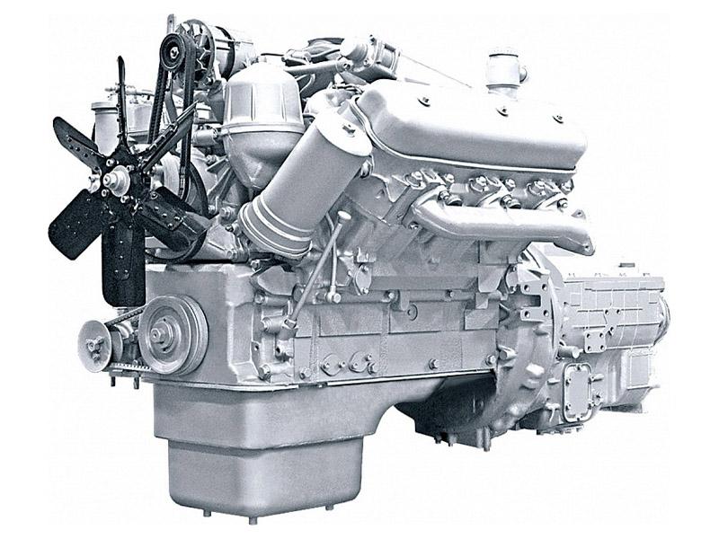 Двигатель ЯМЗ 236М2 на МАЗ и УРАЛ