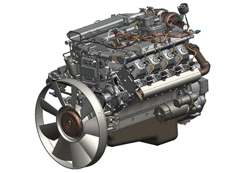 Двигатель 740.73 Евро-4 Common Rail под однодисковое сцепление