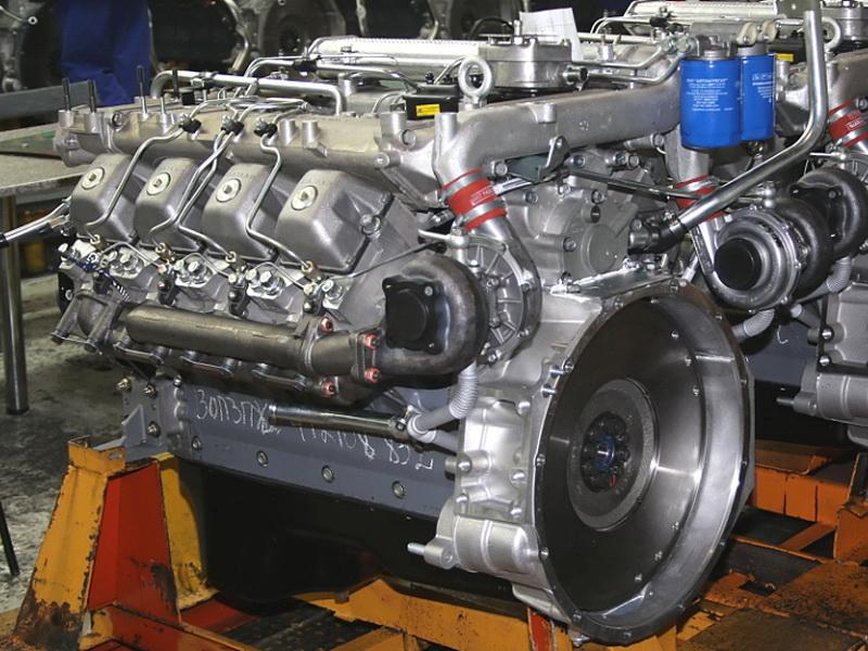Двигатель 740.50 Евро-2 ТНВД ЯЗДА под однодисковое сцепление