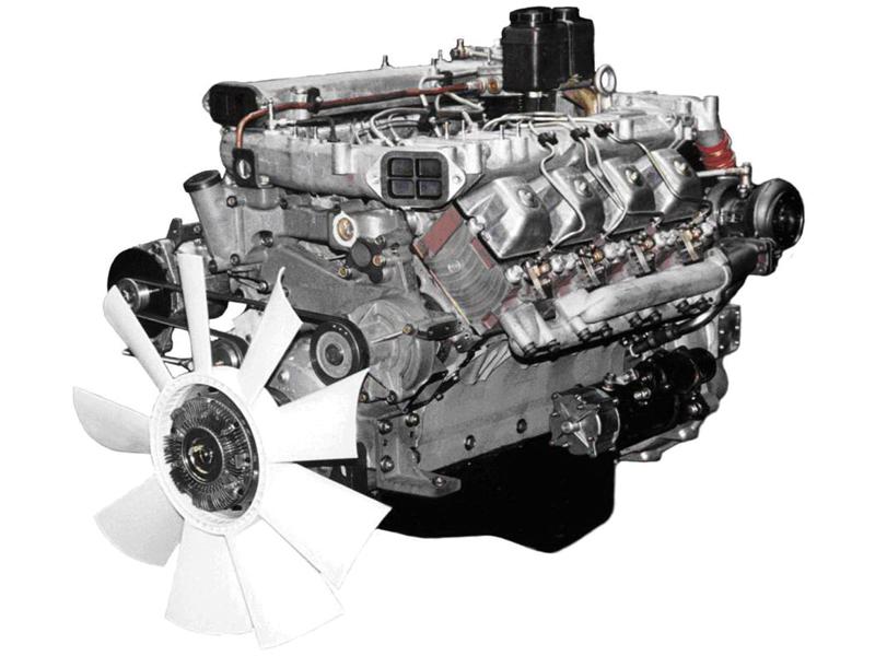 Двигатель 740.51 Евро-2 ТНВД ЯЗДА под однодисковое сцепление