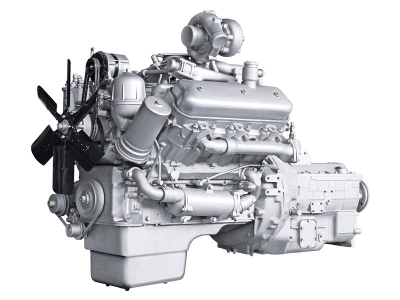 Двигатель ЯМЗ 236НЕ2 на МАЗ 54329, 5440-03