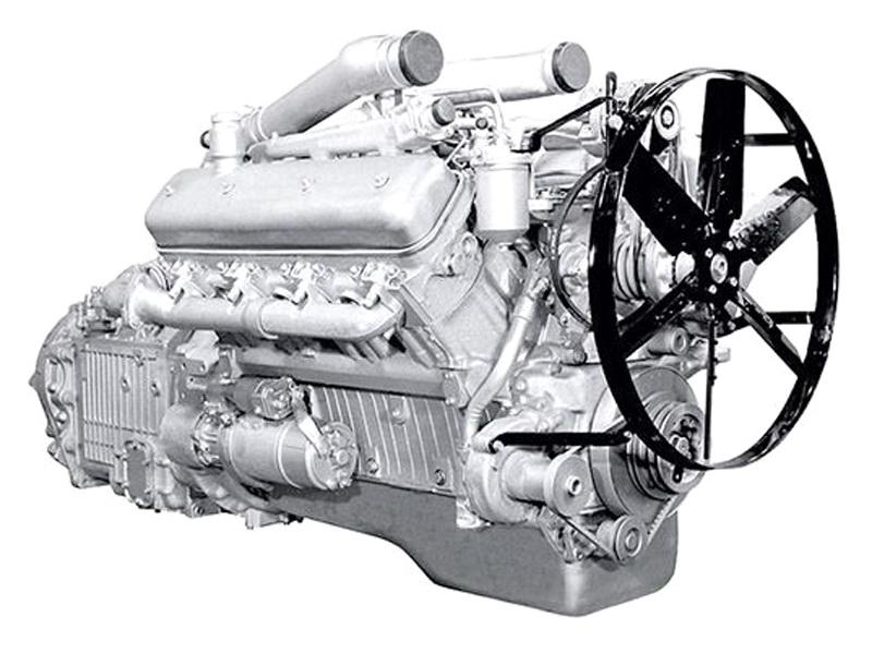 Двигатель ЯМЗ 238АМ2-1
