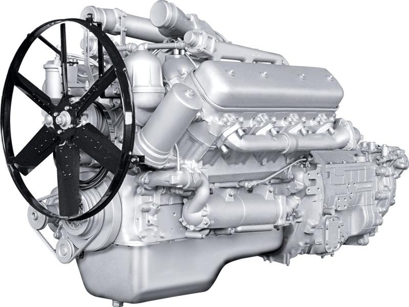 Двигатель ЯМЗ 238ДЕ2 на КЗС, КРАЗ, МАЗ