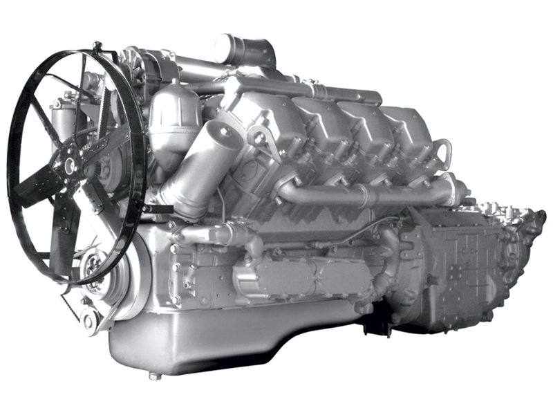 Двигатель ЯМЗ 7511.10 на МАЗ