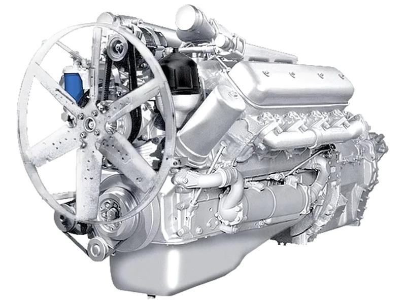 Двигатель ЯМЗ 7513.10 на МЗКТ 65272, 74181, 600100, 6922