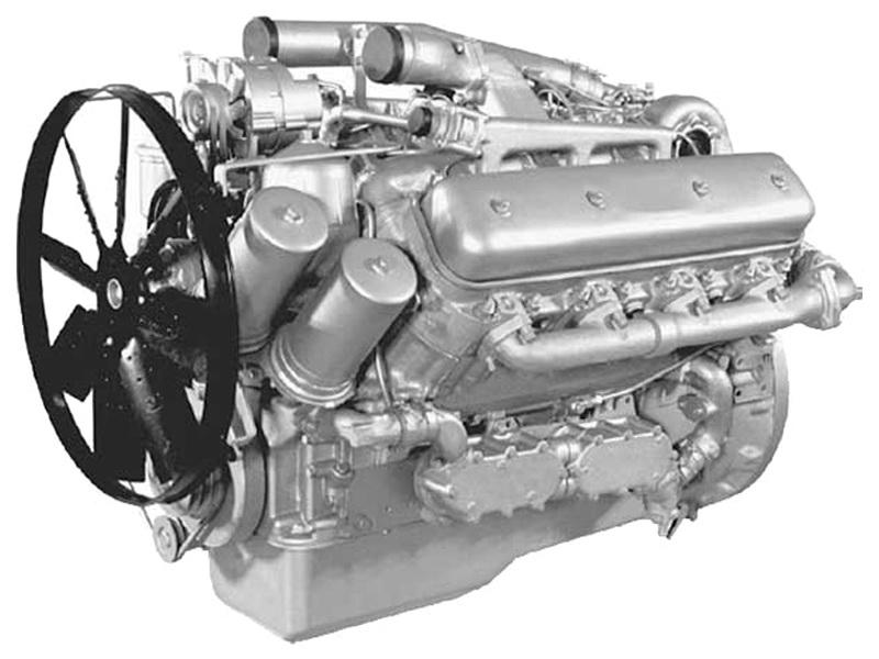 Двигатель ЯМЗ 7514.10-01 на дизельные электростанции