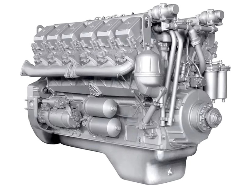 Двигатель ЯМЗ 240М2 на БелАЗ г/п до 30 т.