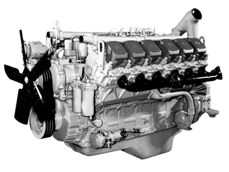 Двигатель ЯМЗ 240ПМ2 на БелАЗ г/п 30-32 т.